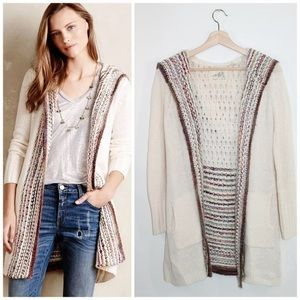 Anthropologie Angel of the North Ombré Cardigan